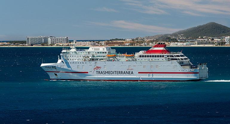 ferry Gandia a Ibiza