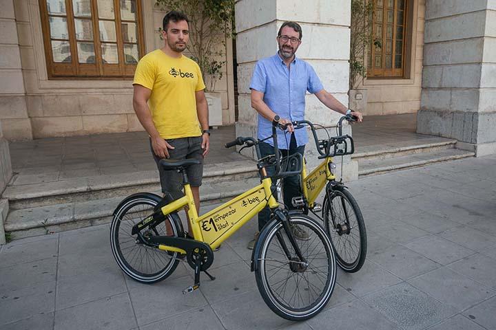 bicicletas bee en Gandia