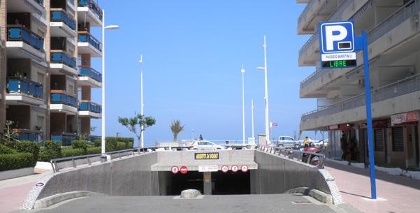 mas parkings en la Playa de Gandia