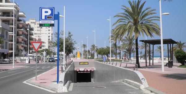 parking 1 Playa de Gandia