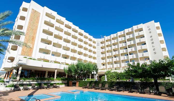 hotel los robles gandia playa de los mejores hoteles tres estrellas