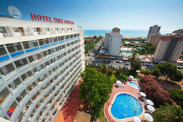 hotel tres anclas gandia playa